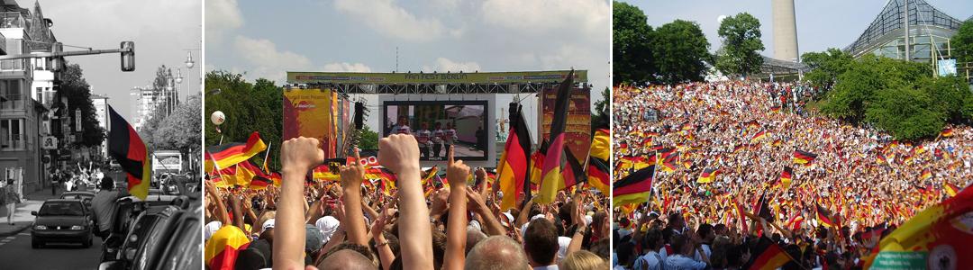 Mithilfe gesucht: Public Viewing in Deutschland während der WM 2010